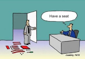 Ikea Job Interview Cartoon