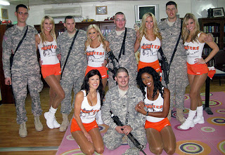 Hooters Girls in Iraq