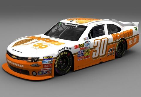 Hooters Sponsors NASCAR