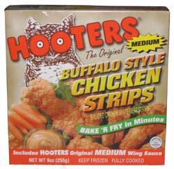 Hooters Frozen Food